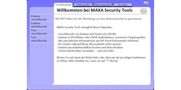 MAXA Security Tools 01