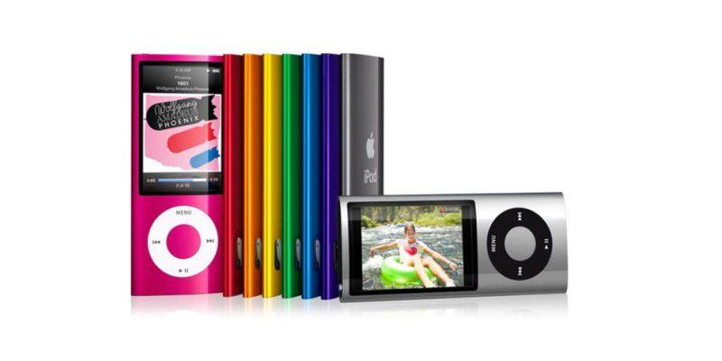 apple ipod nano 5 generation 16 gb im test jetzt mit. Black Bedroom Furniture Sets. Home Design Ideas