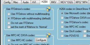 Codec-Package: Advanced Codecs for Windows 7 and 8