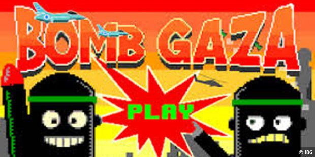 Geschmackloses Android-Spiel: Bomb Gaza