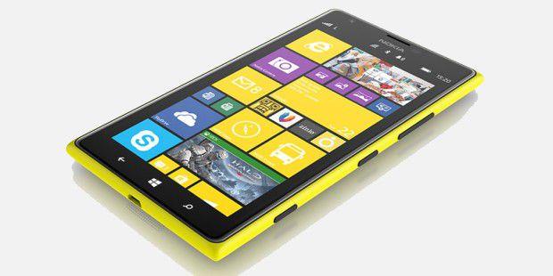 Platz 3: Nokia Lumia 1520