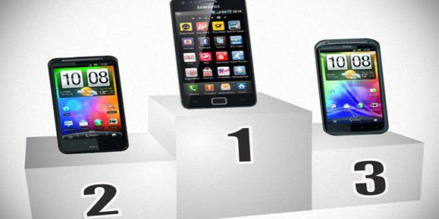 Smartphones mit XXL-Display