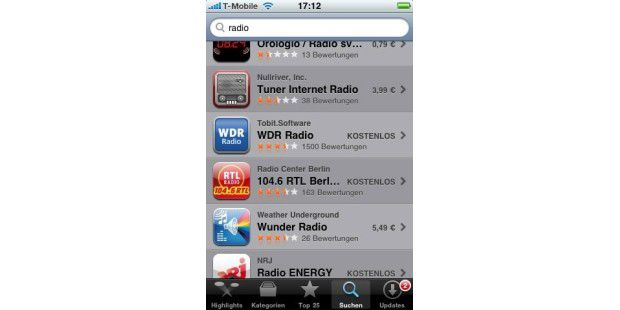 iPhone-Tipps: iPhone als Internet-Radio