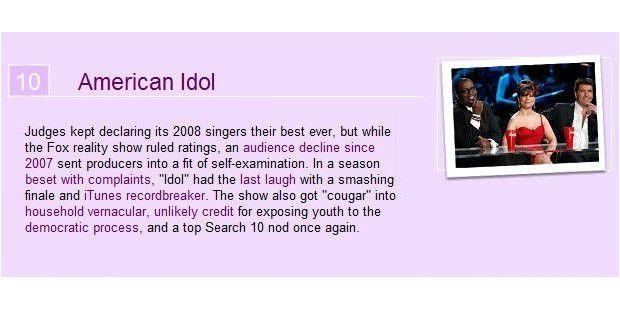 Platz 10: American Idol