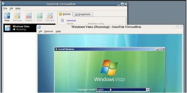 VirtualBox (Windows)