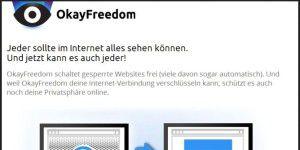 Gratis-VPN-Dienst: OkayFreedom VPN