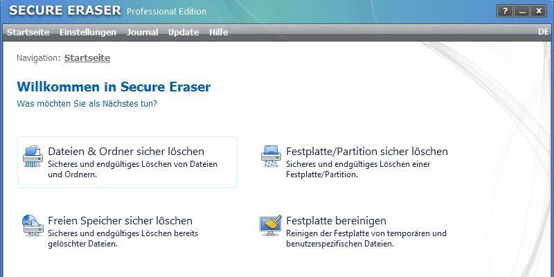 Secure Eraser - PC-WELT