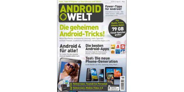 AndroidWelt 03/2012 jetzt am Kiosk!