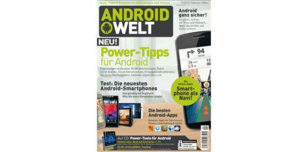 AndroidWelt 02/2012 jetzt am