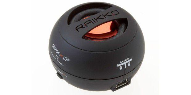 Exklusiv für Abonnenten: Raikko Vakuum-Lautsprecher imHosentaschenformat!