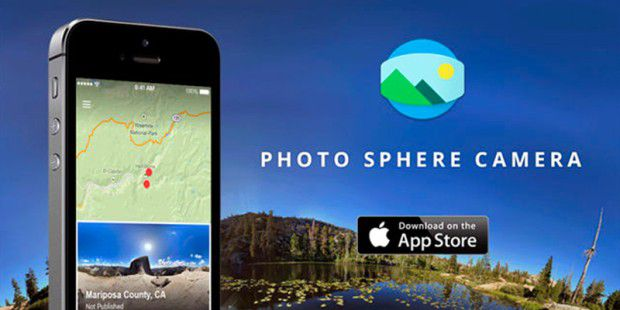 Googles Photo Sphere Camera App erscheint für Apples iOS