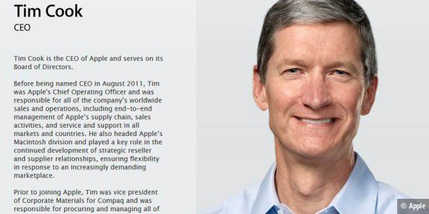 Zeigt Apple-Chef Tim Cook am 9. September endlich die iWatch?