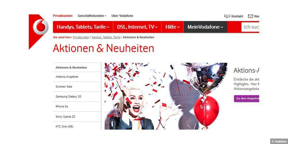 Vodafone senkt Preise für Prepaid-Tarife