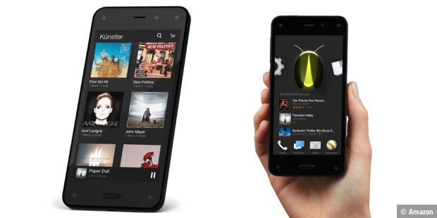 Amazon Fire Phone ab sofort in Deutschland bestellbar