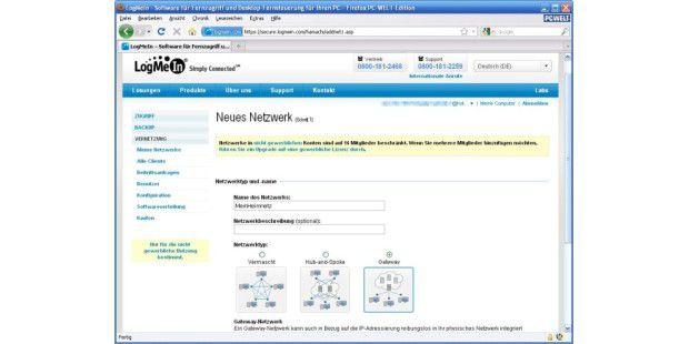LogMeIn Hamachi 2 - Netzwerk-Konfiguration