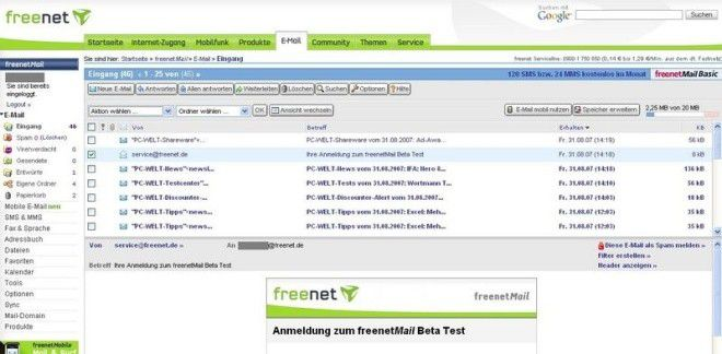 Freenet Spam