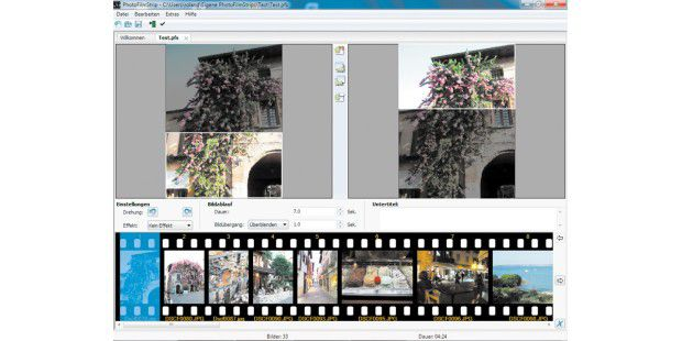 Video statt Diashow: Photo Film Strip