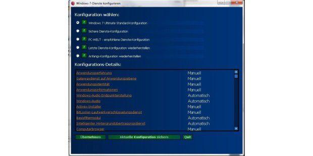 Windows-Dienste verwalten
