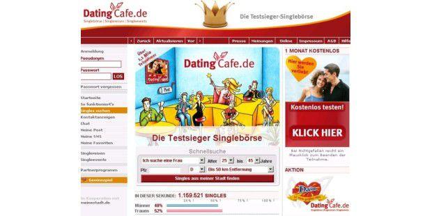 Dating cafe singlereisen