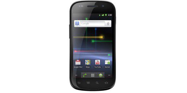 Das Samsung Galaxy Nexus S war das erste Smartphone mitNFC.