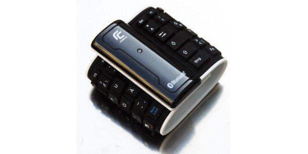 Bluetooth-Tastauren gibt es ab 25 Euro und in denunterschiedlichsten Varianten – sogar aufrollbar.