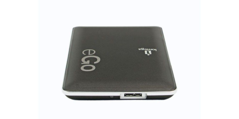 Iomega eGo Portable Hard Drive USB 3.0 500 GB