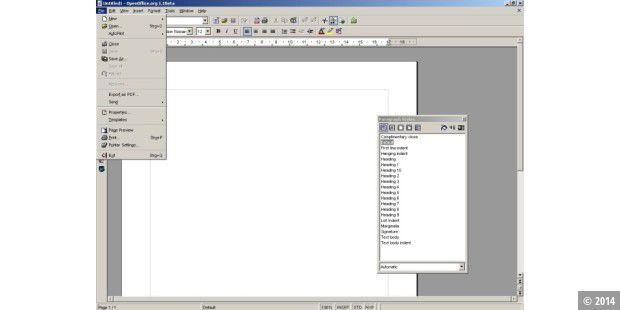 Download: OpenOffice org 1 0 2 deutsch und 1 1 Beta - PC-WELT