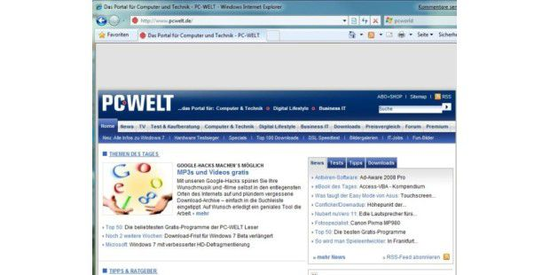 Internet Explorer 8 angeblich fertig