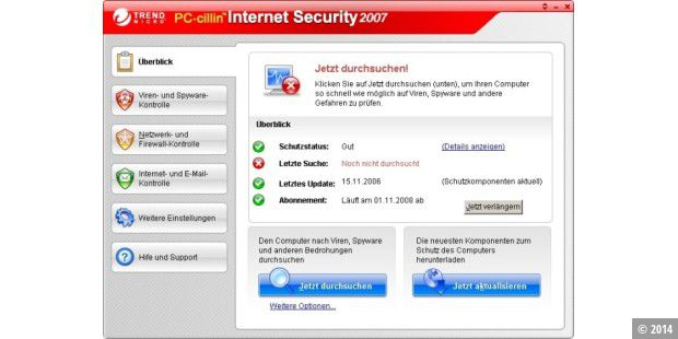 Internet Security and Antivirus from Trend Micro