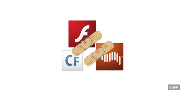 Updates für Flash, Shockwave und ColdFusion