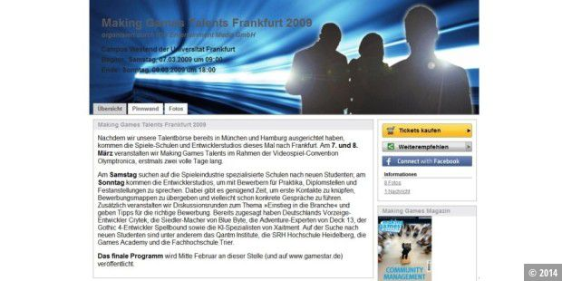 In frankfurt werden die game designer von morgen gesucht for Game design frankfurt
