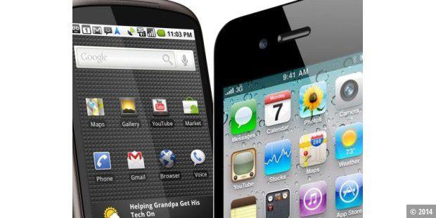 Iphone Gegen Android Gegen Brombeere