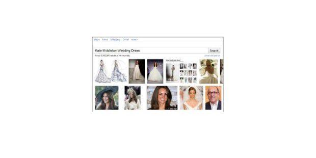 Malware verspricht Blick auf Kate Middletons Hochzeitskleid
