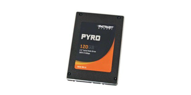 SSD im Test: Patriot Pyro 120GB (PP120GS25SSDR)