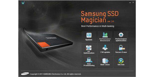 Echter Mehrwert: Tool-Sammlung Samsung SSDMagician