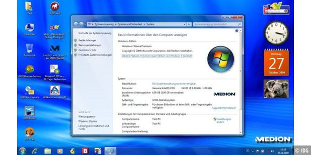Medion Akoya mit Windows 7
