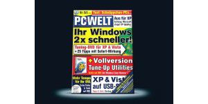 PC-WELT 4/2009 mit Extra-CD Tune Up Utilities 2008