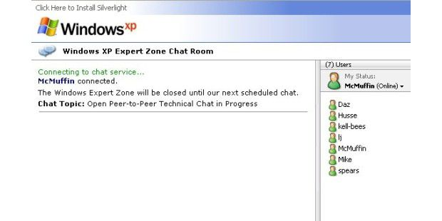 Windows XP Experten Chat