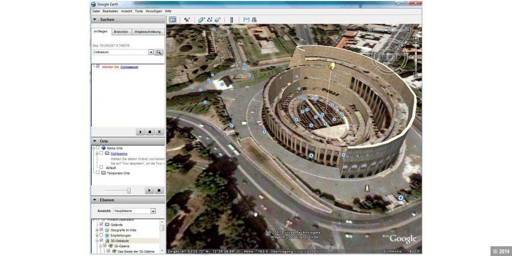 Google Earth 4 steht zum Download bereit - PC-WELT