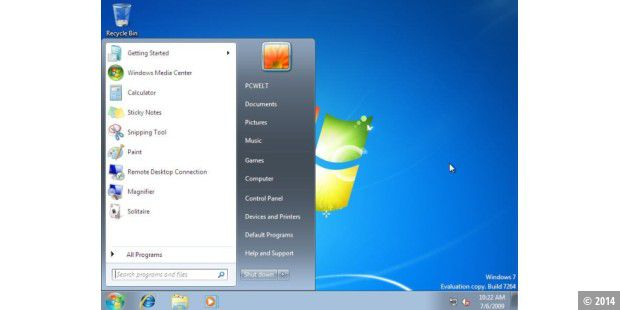 Windows 7 Build 7264