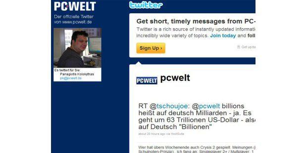 PC-WELT Twitter