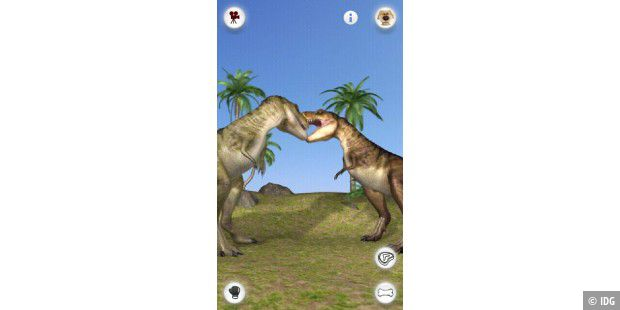 "Android-App ""Talking Rex the Dinosaur"""