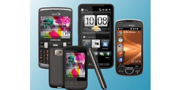 Windows Mobile läuft auf vielen Smartphones