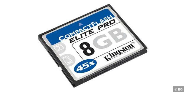 Kingston 8 Gigabyte Typ 1 Compactflash Elite Pro