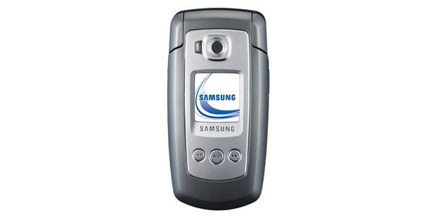 Samsung SGH-E770: Folder im E720-Design