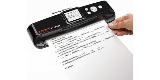 Ion Audio All-in-One Dokumenten- und Foto-Scanner Docuscan
