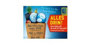 25 Euro Guthaben + 30 Tage Smart-Option 300