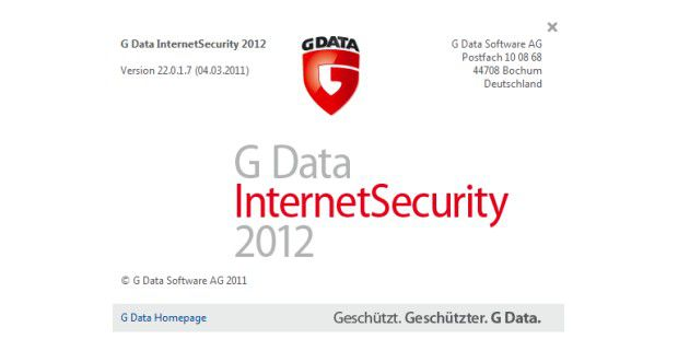 G Data Internet Security 2012