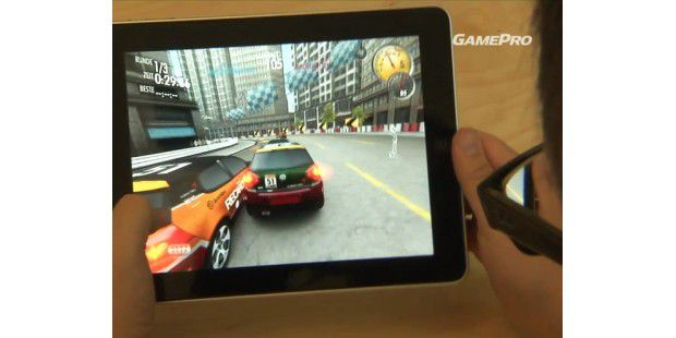 Need For Speed Shift auf dem iPad