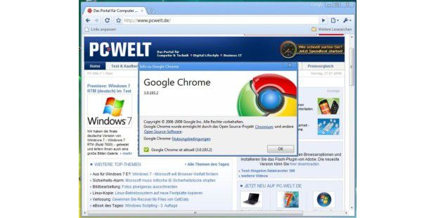 Chrome 3 Beta kennt nun HTML5-Video-Tag
